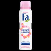 Fa Deospray Natural & Pure Rosenblüte 48h 150ml