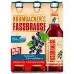 Krombacher's Fassbrause Schwarze Johannisbeere 6x0,33l