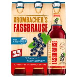 Krombacher Fassbrause Schwarze Johannisbeere 6x033l Bei Rewe Online