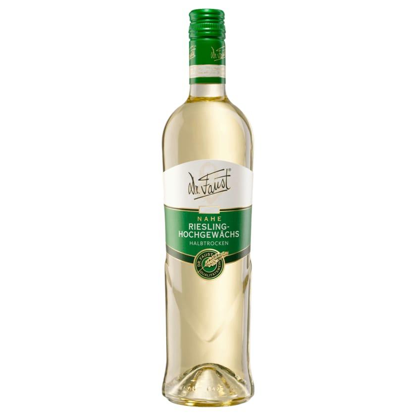 Dr. Faust Weißwein Riesling-Hochgewächs halbtrocken 0,75l