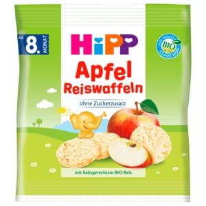 Hipp Knabberprodukte Apfel Reiswaffeln ab 8. Monat 30g