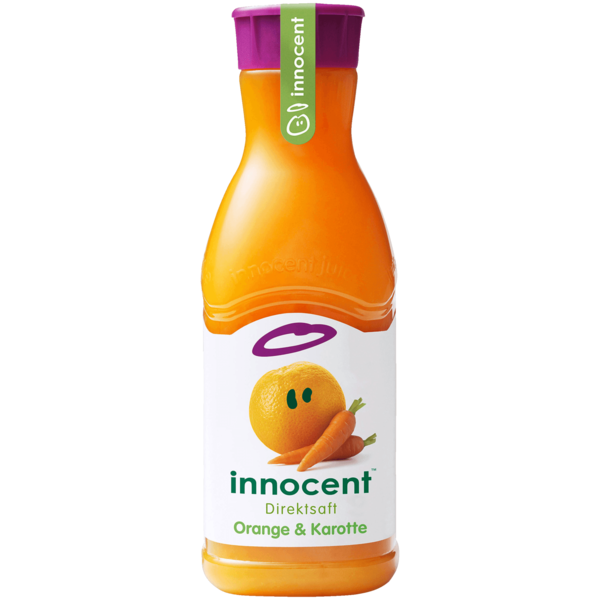 Innocent Orange & Karotten Saft 900ml