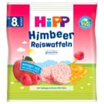 Hipp Knabberprodukte Bio Himbeer Reiswaffeln ab dem 8. Monat 30g