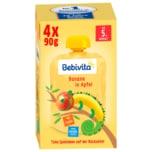 Bebivita Quetschies Banane in Apfel 4x90g