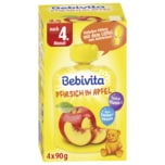 Bebivita Pfirsich in Apfel nach dem 4. Monat 4x90g