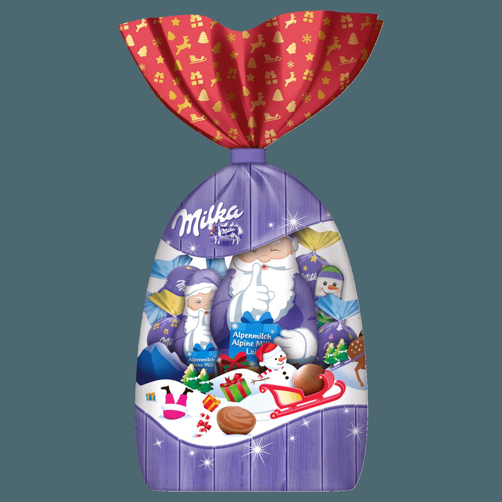 Milka Schokolade Große Weihnachtsmischung 196g