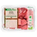 REWE Bio Rindergulasch aus der Keule