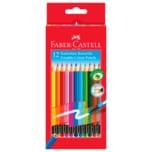 Faber-Castell Radierbare Farbstifte 12 Stück