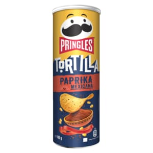 Pringles Tortilla Chips Paprika 180g