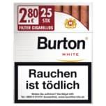 Burton White Eco XL-Box Zigarillos 25 Stück