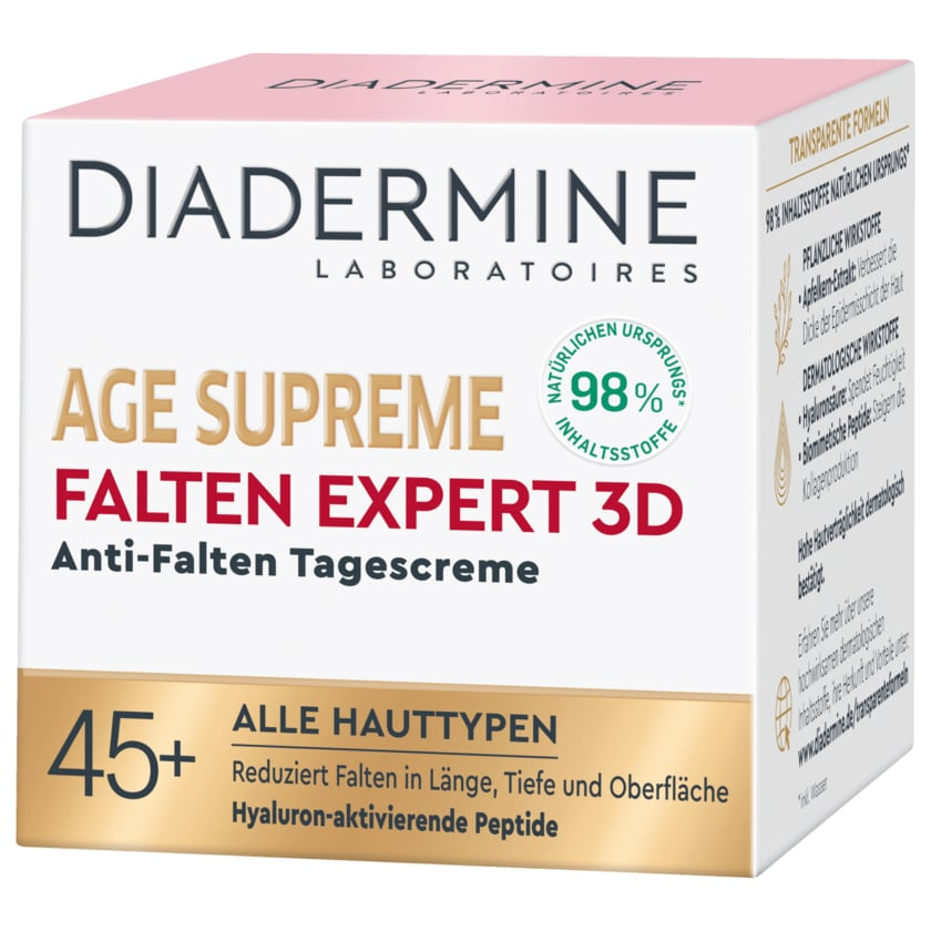 Diadermine Tagescreme Age Supreme Falten Expert 3D 50ml