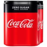 Coca-Cola Zero Sugar 4x0,33l
