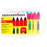 Eberhard Faber Wachskreiden 10 Stück