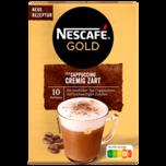 Nescafé Gold Typ Cappuccino Cremig Zart 10x14g