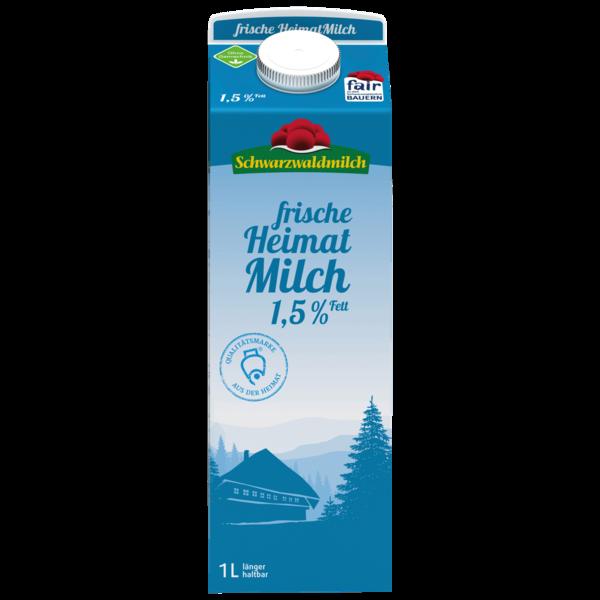 Schwarzwaldmilch frische, fettarme Milch 1,5% 1l