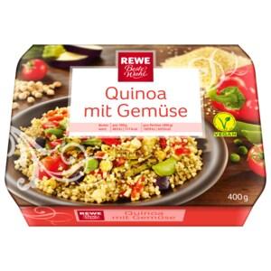 REWE Beste Wahl Quinoa mit Gemüse 400g