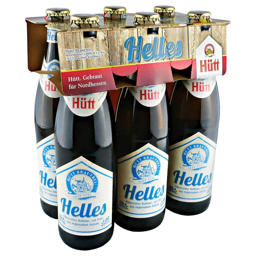 Hütt Helles 6x0,5l