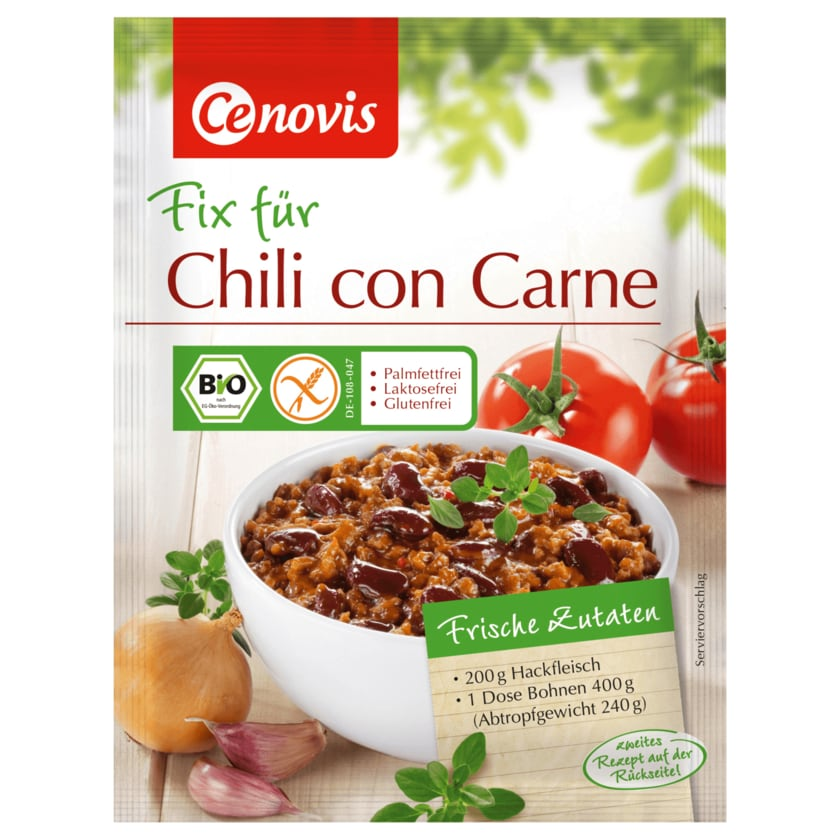 Cenovis Fix Bio Chili con Carne 40g