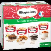 Häagen-Dazs Favorite Selection 4x100ml