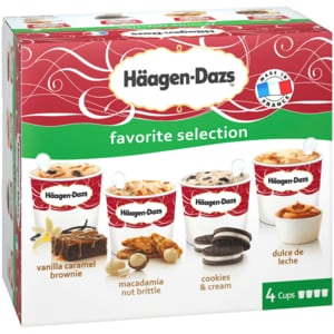 Häagen-Dazs Selection 4x100ml