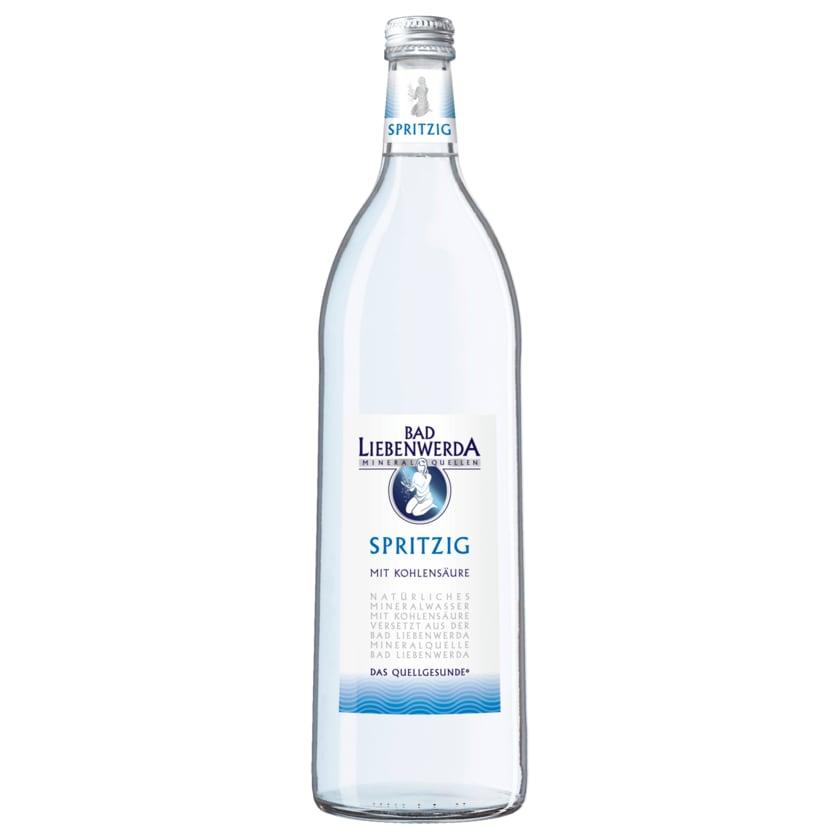 Bad Liebenwerda Mineralwasser Spritzig 1l