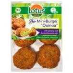 Lotus Bio Mini-Burger Quinoa 165g
