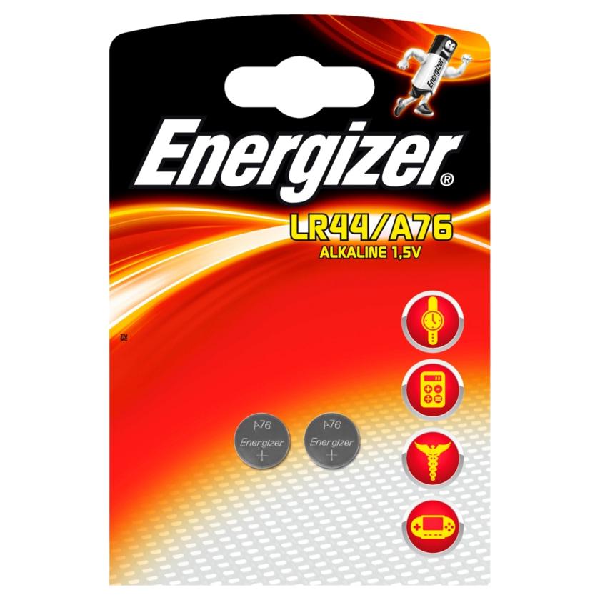 Energizer Knopfzellen Alkali A76 2 Stück