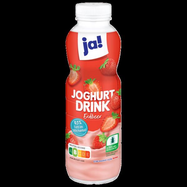 ja! Joghurt-Drink Erdbeere 500g