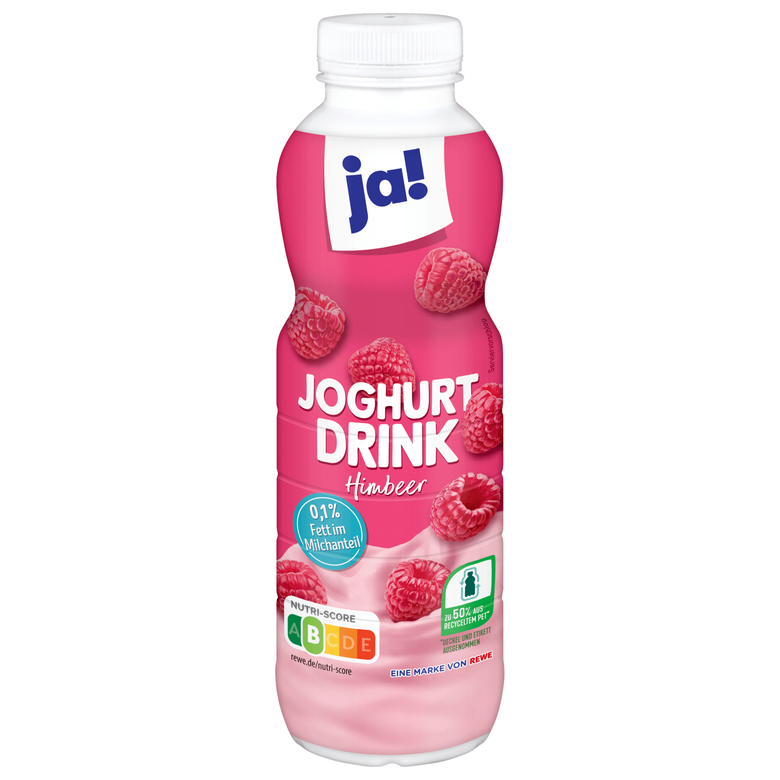 ja! Joghurt- Drink Himbeere 0,1% 500g