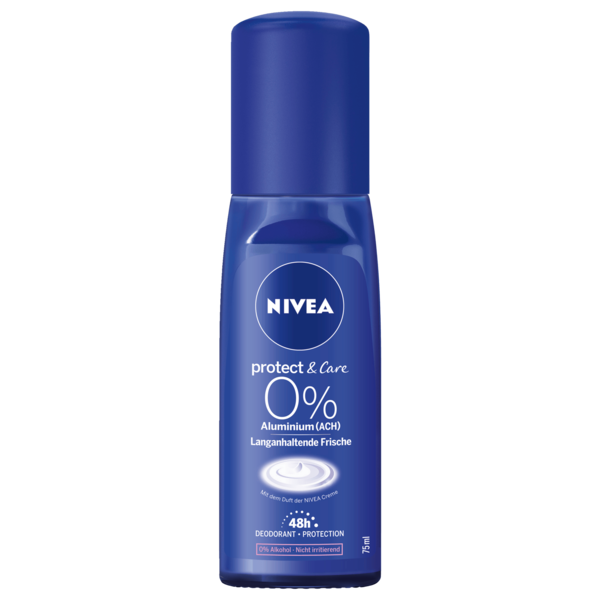 Nivea Protect & Care 0% Aluminium Deodorant 75ml