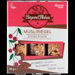 Vantastic Foods Beyond Flakes Müsliriegel Schoko-Kirsche 90g