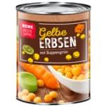 REWE Beste Wahl Gelbe Erbsen mit Suppengrün 850ml