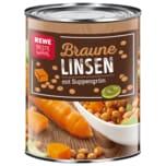 REWE Beste Wahl Linsen mit Suppengrün 530ml