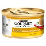 Gourmet Gold Raffiniertes Ragout mit Huhn 85g