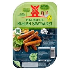 Rügenwalder Mühle Vegetarische Mühlen Bratwurst 180g