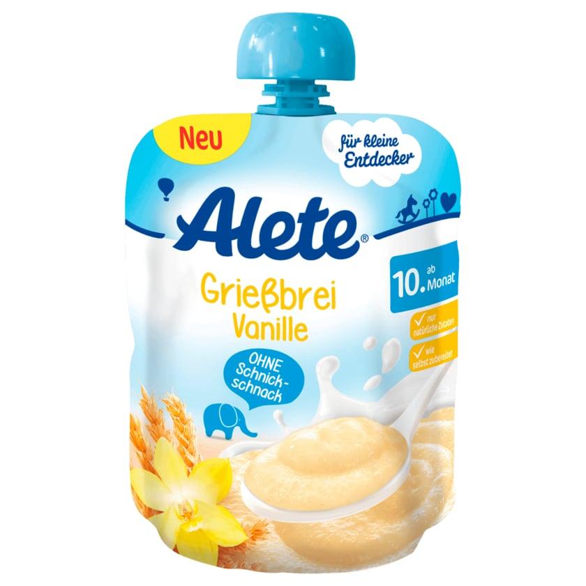 Alete Grießbrei Vanille ab 10. Monat 85g