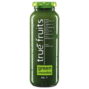 True Fruits Smoothie triple green no. 1 750ml