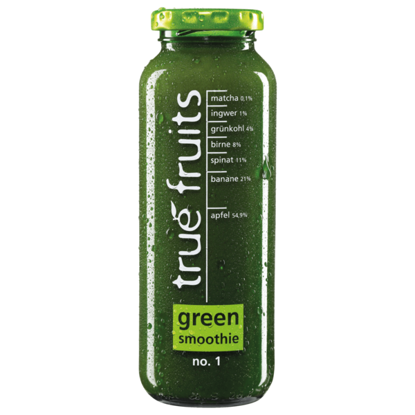True Fruits Green Smoothie