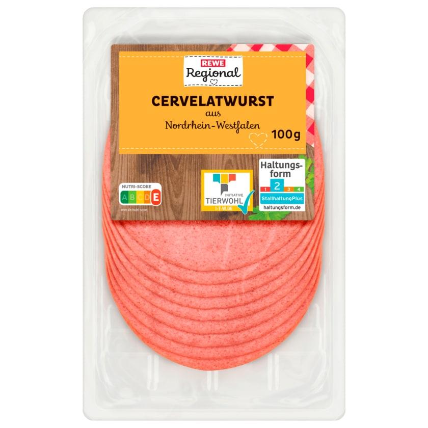 REWE Regional Cervelatwurst 100g
