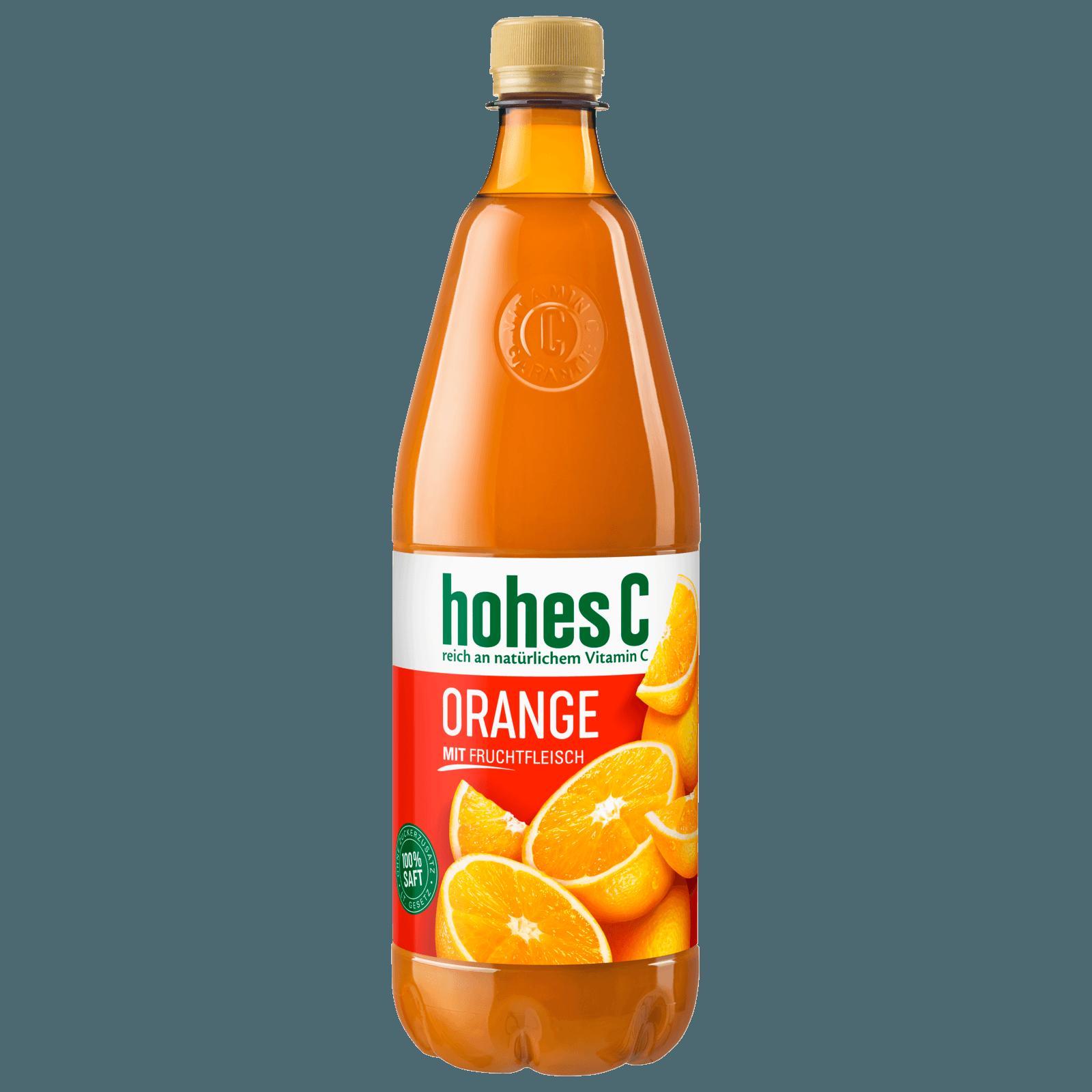 Hohes C Orange mit Fruchtfleisch 1l
