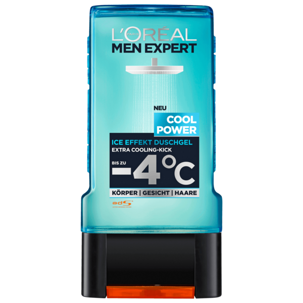 L'Oreal Men Expert Duschgel Cool Power Ice Effekt 300ml