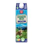 REWE Beste Wahl Frische Fettarme Bergbauern Milch 1,5% 1l