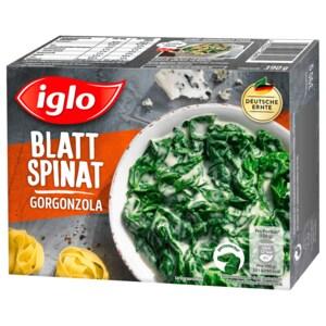 Iglo Blatt-Spinat mit Gorgonzola 390g