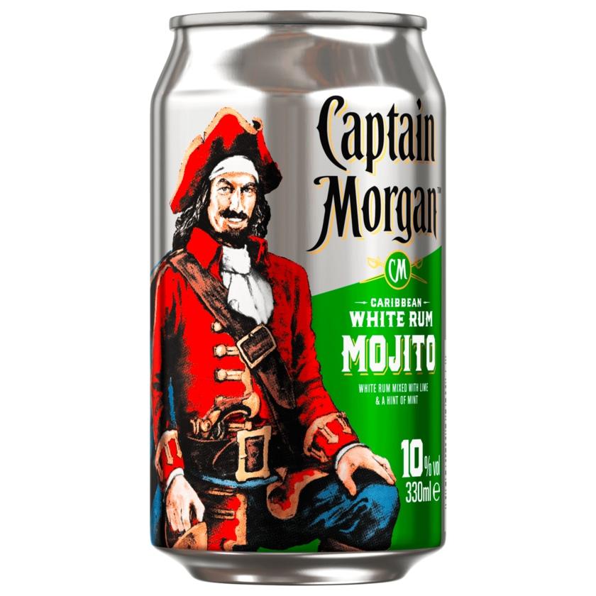 Captain Morgan White Rum Mojito 10% 0,33l