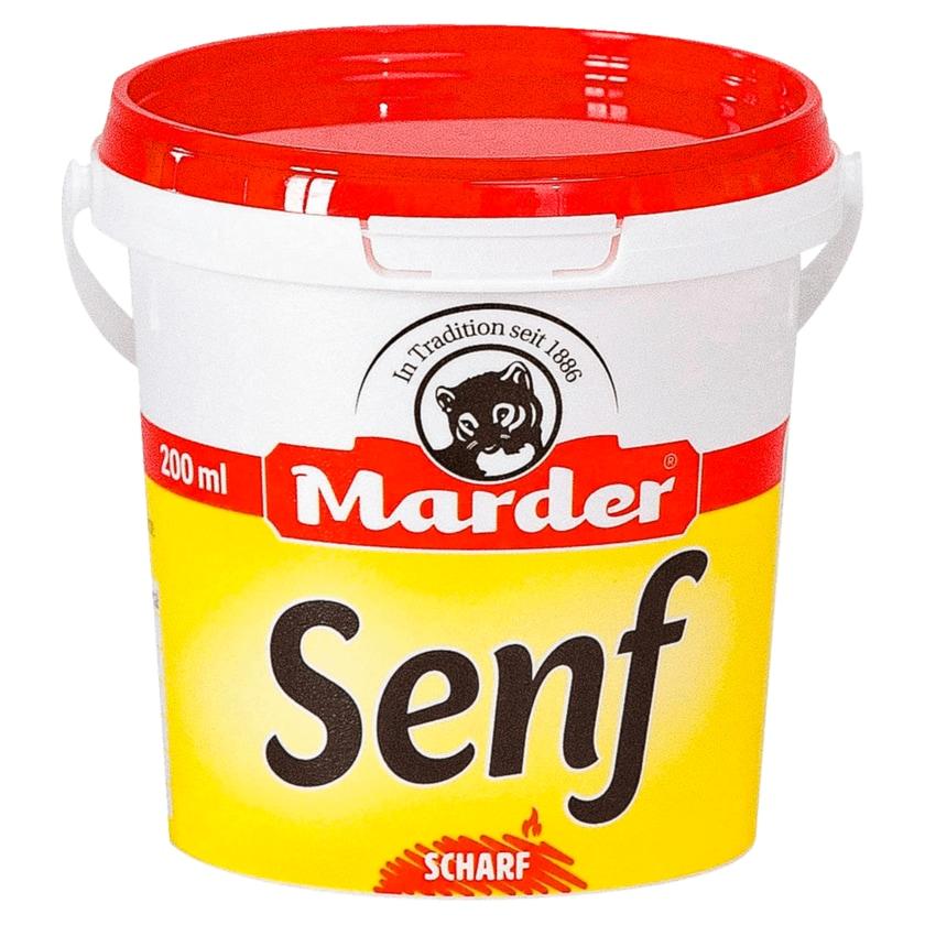 Marder Senf scharf 200ml