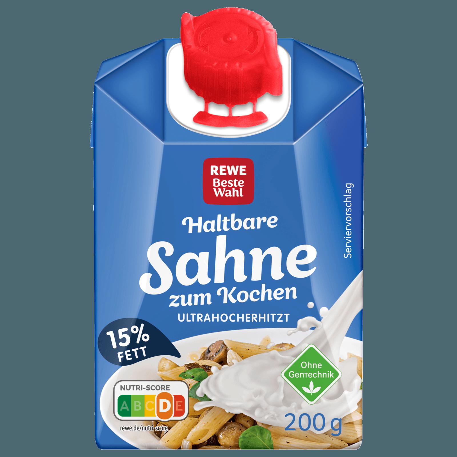 Rewe Beste Wahl H Sahne Zum Kochen 15 200g Bei Rewe Online Bestellen