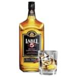 Label 5 Blended Scotch Whisky Classic Black 1l
