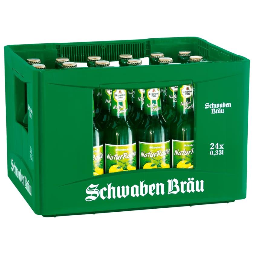 Schwaben Bräu Naturradler 24x0,33l