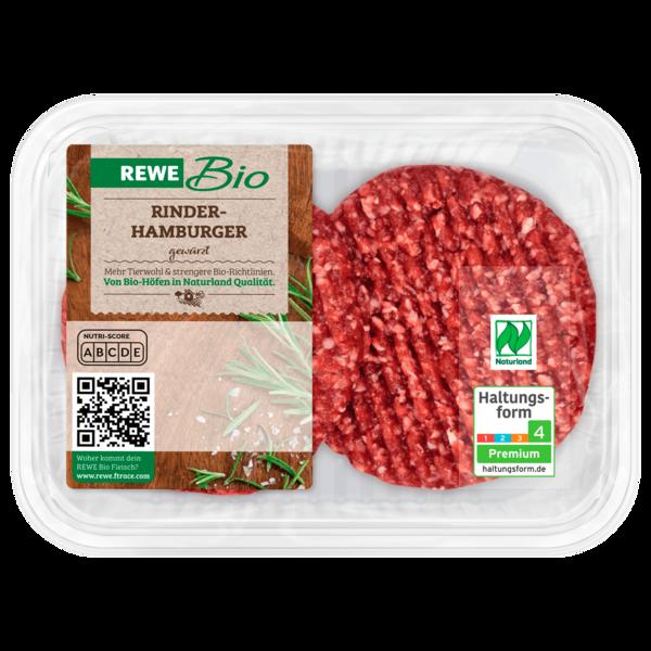 REWE Bio Hamburger Rindfleisch