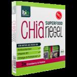 Bio Zentrale Chia-Riegel Cranberry & Kokos 3x40g